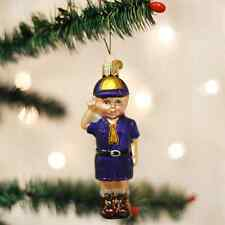 *Lil' Scout* Boy Scout Eagle Camp [24147] Old World Christmas Ornament - NEW