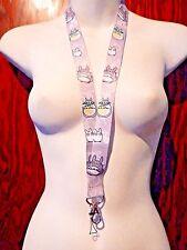 Miyazaki MY NEIGHBOR TOTORO lanyard anime manga Japan neck strap ID tag badge Z1