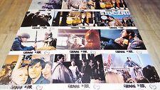 L' HOMME DE FER ! Andrzej Wajda  jeu 12 photos cinema lobby cards
