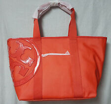 Tory Burch Bag 11169674 Poppy Red Small Beach Canvas Tote Agsbeagle