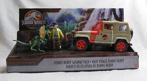 Dennis Nedry Getaway Pack - Jurassic World Park Legacy Collection Dilophosaurus