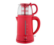 Turkish Electric Tea Maker Tea Pot Machine Kettle Caydanlik Teapot From UK Red
