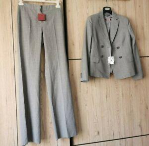 🌟Studio MARA MARA Blazer+Pants SUIT in WOOL USA4 _ IT38_ D34_ GB6_ FR36
