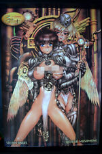 STEAM ANGEL VINTAGE 1000 EDITIONS ANIME POSTER JAPAN 98x68cm4732 MASAMUNE SHIROW