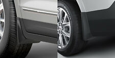 2017-2020 Cadillac XT5 GM Front & Rear Molded Splash Guards Without Steps