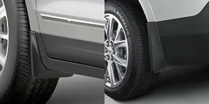 2017-2019 Cadillac XT5 GM Front & Rear Molded Splash Guards Without Steps
