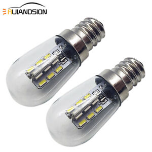 6000K/ 3000K E12 3014 LED Refrigerator Light Range Hood Bulb Screw Lamp AC 220V