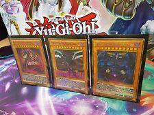Yu-Gi-Oh! Karten Götter Slifer Obelisk Ra Holo Orica/Costum Style Super Malefic