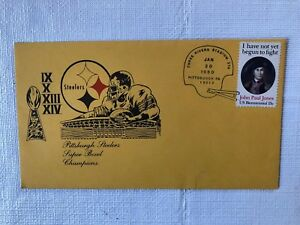 PITTSBURGH STEELERS 1980 SUPER BOWL CHAMPIONS Commemorative Cover