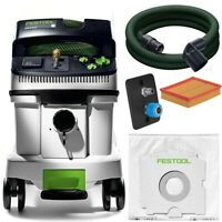 Festool Extracteur Mobil Ctm 36 E Le Cleantec 574990 + Connection Pression