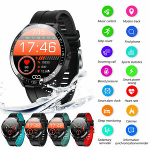Smart Watch Heart Rate Sports Fitness Tracker Body Temperature Bluetooth-Call