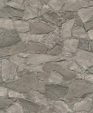 Marburg Novamur 81908 Steine Mauer Bruchstein 3D Beige Braun 6722-30