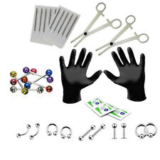 BodyJ4You® Body Piercing Kit 14G Tongue 14 Gauge Jewelry Set 26 Pieces