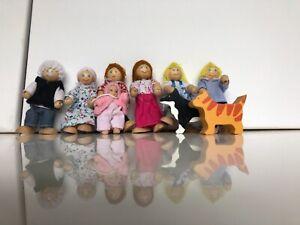 Dolls house family set