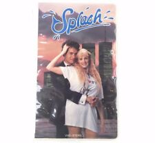 SPLASH - Tom Hanks Daryl Hannah (Authentic 1984 VHS Stereo) Clamshell Case VHS