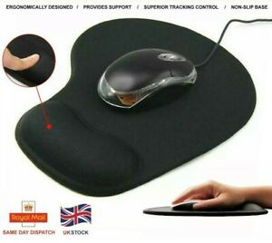 New Anti-slip Mouse Pad Mat with Wrist support Foam Rest Comfort for Laptop PC