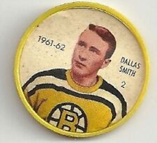 DALLAS SMITH 1961-62 Salada / Shirriff Coin #2 NHL Hockey VG '61 Boston Bruins