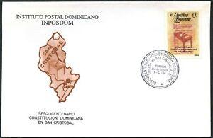Dominica 1994, 150th Anniv Of 1st Constitution FDC #C48773