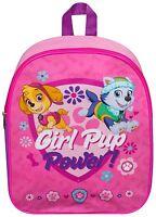 NEW PAW PATROL GIRLS PINK JUNIOR TODDLER SCHOOL TRAVEL BAG BACKPACK GIFT PRESENT