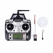 FLYSKY FS-T6 2.4G 6CH 6 Channel RC Remote Control Radio Transmitter & Receiver @