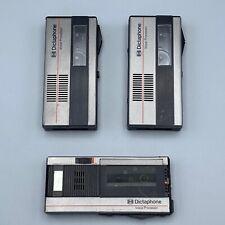 Vintage Dictaphone Voice Processors Models (2) 1253 & (1) 1254