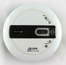 GPX CDP3306CK 60 sec ESP Compact Portabe CD Payer EUC