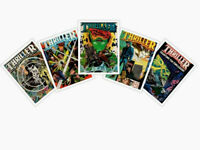 THRILLER DC 1984 Lot of 5 #7, 8, 9, 10 &The Conclusion #12 Robert Loren Fleming