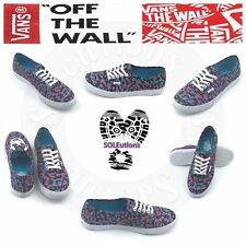 VANS Authentic Lo Pro Mixed Magenta Blue Atoll W5
