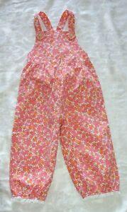 Gymboree FRESHLY PICKED 1 PC Romper Pink & Orange Floral NWT 2T 3T 5T