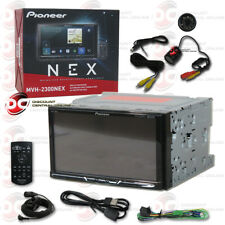 "PIONEER MVH-2300NEX CAR 7"" LCD DIGITAL MEDIA BLUETOOTH RECEIVER FREE REAR CAMERA"