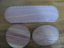 Red Cedar Basket Bottoms 3 Different3 Different sizes