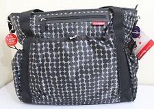 SKIPHOP Riverside Drawstring Black Unisex Baby Tote Diaper bag Stroller strap
