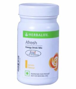 Herbalife Afresh lemon Energy Drink  Herbal Tea 50gm / 1.7 Oz Fast Shipping