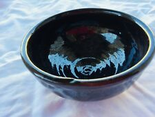 Old Sturbridge Village Pottery Bowl Glazed Small 22661 Vintage 1978