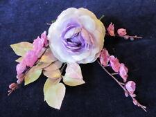 "Vintage Millinery Flower Collection Lavender Lilac Purple 1-4"" H2664"