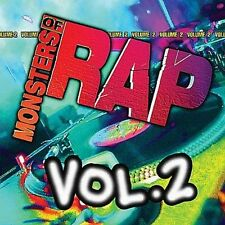 Monsters of Rap, Vol. 2 by Various Artists (CD, Mar-2002, Razor & Tie)