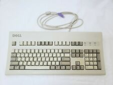 Dell AT101W Beige Keyboard - tested/working Black Alps  A5