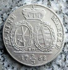2/3 Taler 1768 Sachsen, Albertinische Linie: Friedrich August III. 1763-1806