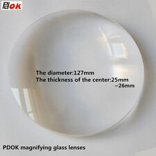 8X Desktop Magnifier Replace Lens 127mm Big Diameter Magnifying Glass Lens