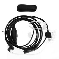 1Pc Throat Microphone Earpiece Headset Mic PTT For Two-Way Radio Talkie 2.5mm
