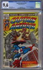 Captain America #223 CGC 9.6 NM+ Wp Vs. Animus Marvel Comics 1978 John Byrne Cvr