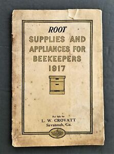 1917 antique A I ROOT BEEKEEPERS CATALOG supplies appliances illustrated