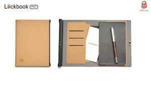 LockBook Pro Fingerprint-Protected Security Notebook Note Book Stationery