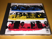 THE POLICE sting SYNCHRONICITY CD hits EVERY BREATH YOU TAKE king of pain