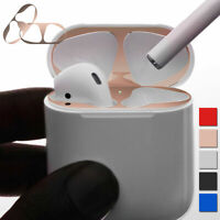 For Apple Airpods Accessories Metal Dust Guard Film Sticker Iron Plate Cover