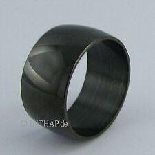 Markenlose Modeschmuck-Ringe im Band-Stil aus Titan