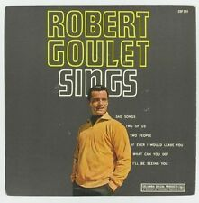 ROBERT GOULET Sings COLUMBIA EP Sad Songs/Two of Us/Two People FRENCH CANADA