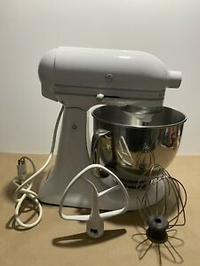 KitchenAid Artisan KSM150PSWW 5-Quart 325W Tilt Head Stand Mixer