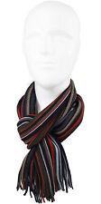 Schal Strickschal Streifen modisch mehrfarbig 100% Wolle (Merino)  R-599