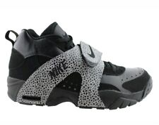 NEW Nike Air Veer Prm Safari Trainer 599443-001 Black White 3M Silver size 10.5
